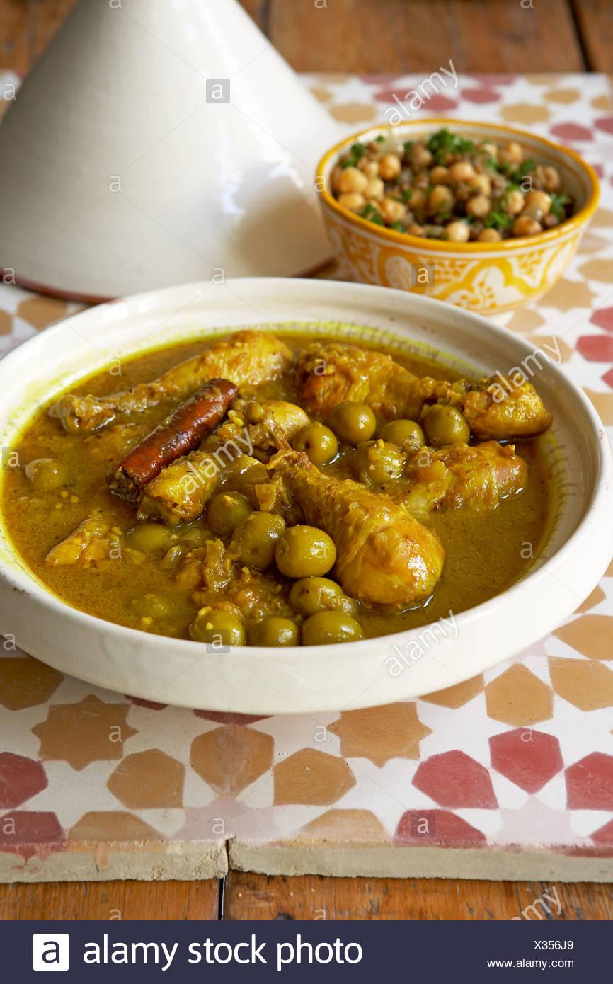 La Cuisine Traditionnelle Africaine Tajine De Poulet De L Afrique