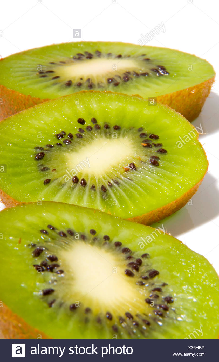 Les kiwis close up Photo Stock