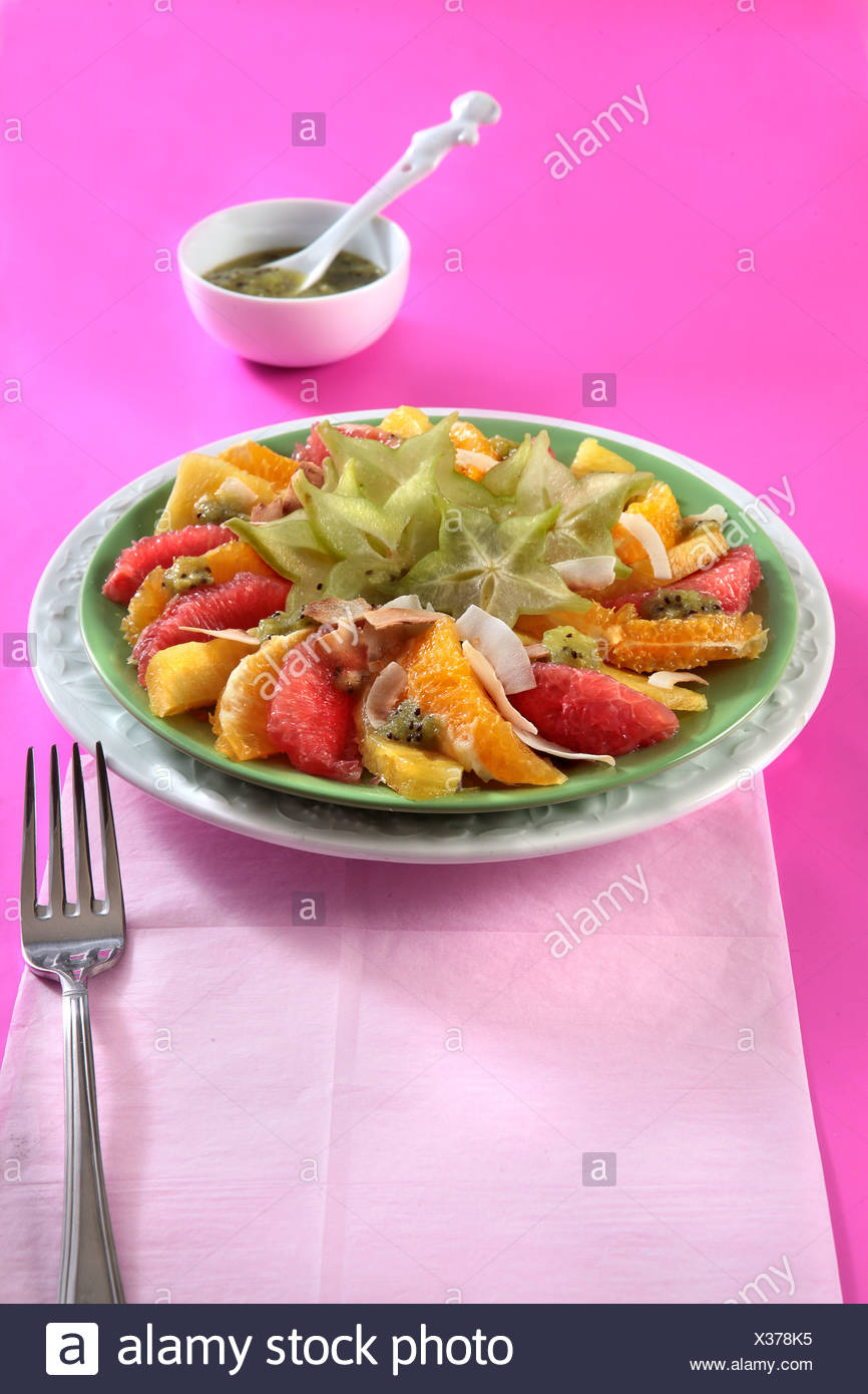 Salade vitamine Photo Stock