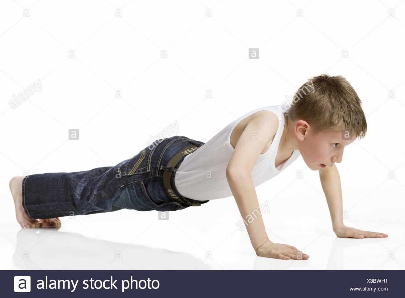 modèle de fitness nus