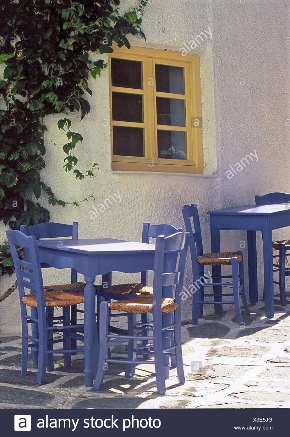ambiance de Grèce Photo Stock