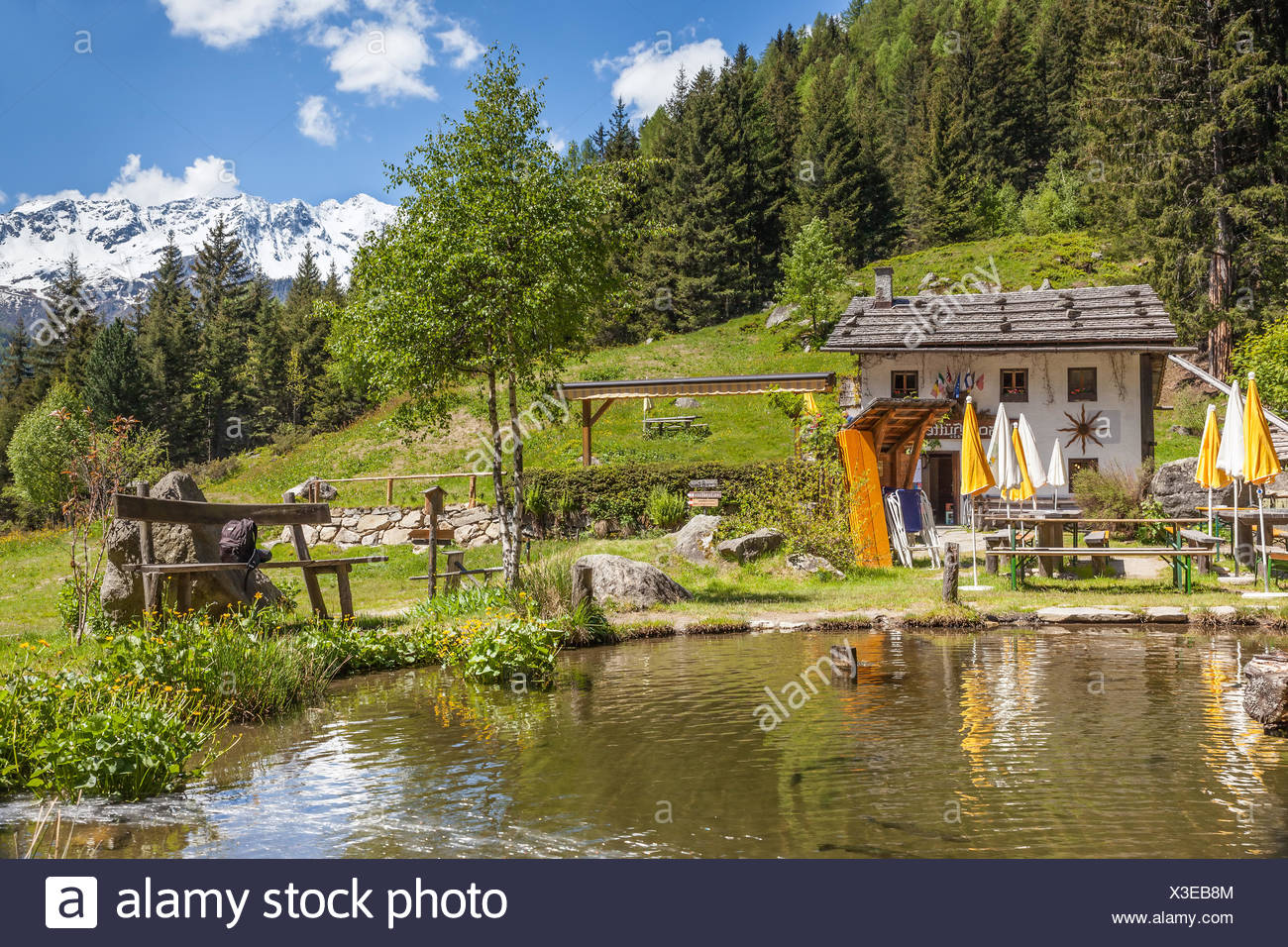 Géographie / voyages, Italie, Tyrol du Sud, Editorial-Use-seulement Photo Stock