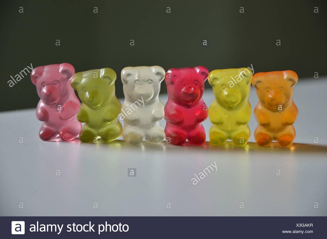 Gummy Bears Banque D'Images