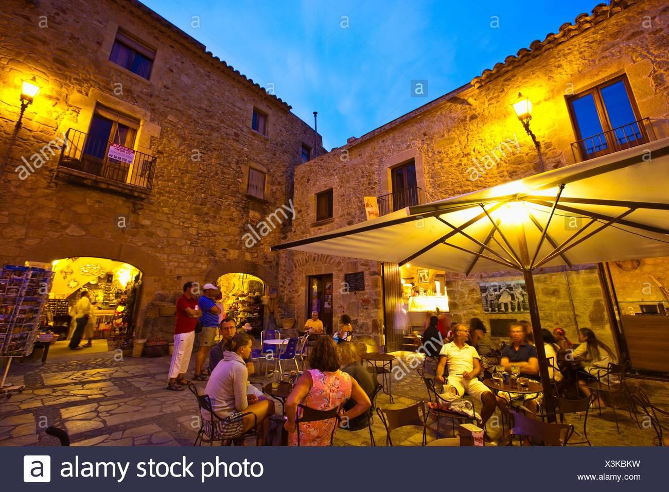 L'EPLA, Baix Empordà, Costa Brava, Gérone, Catalogne, Espagne. Photo Stock