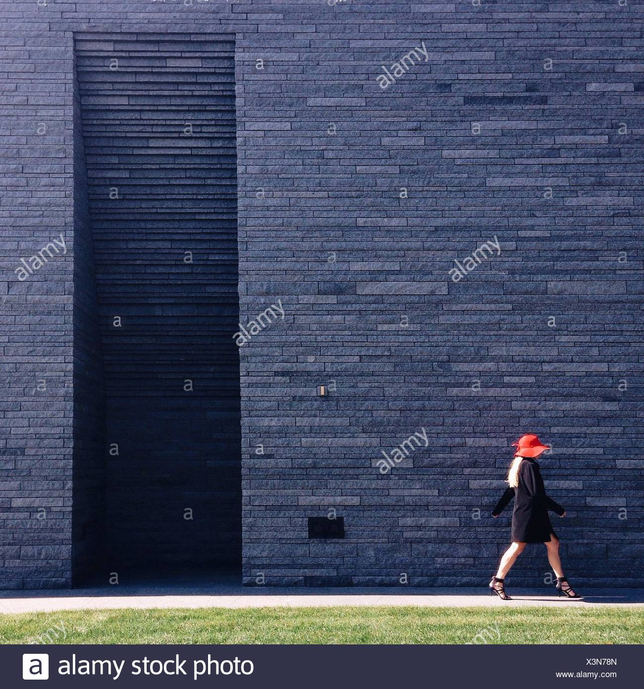 Side-View de Woman in High Heels Photo Stock