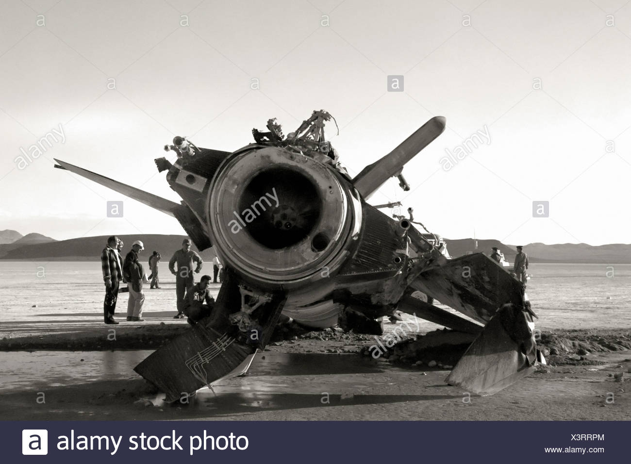 Épave X-15 Photo Stock