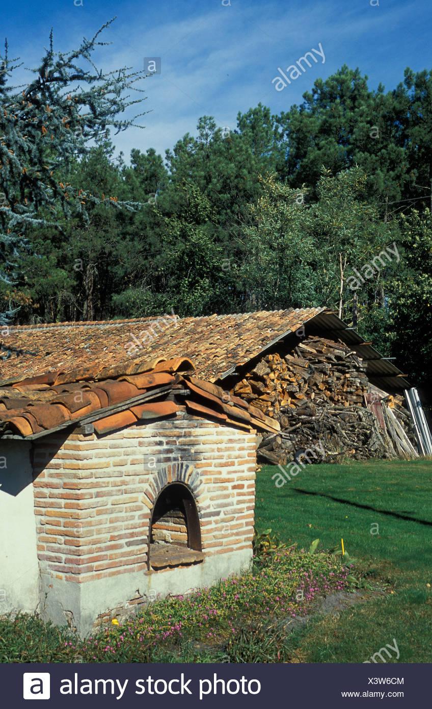 France, Aquitaine, Landes parc naturel Photo Stock