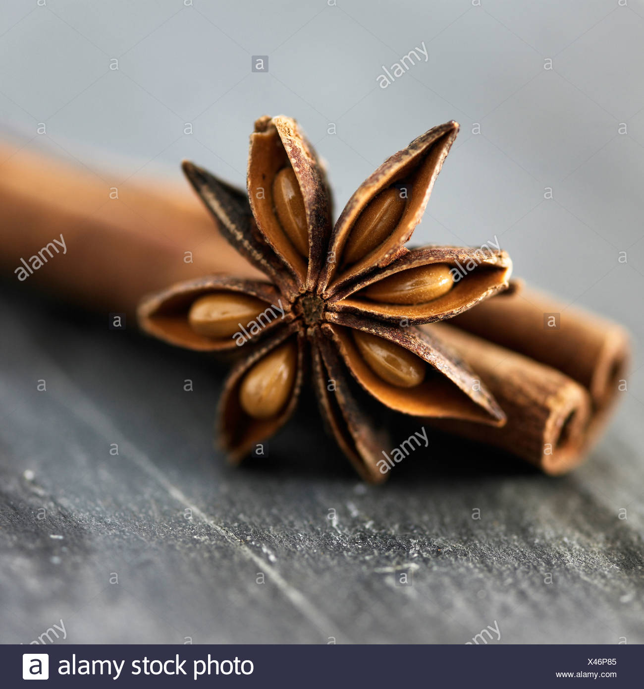 Close up de la badiane spice Photo Stock