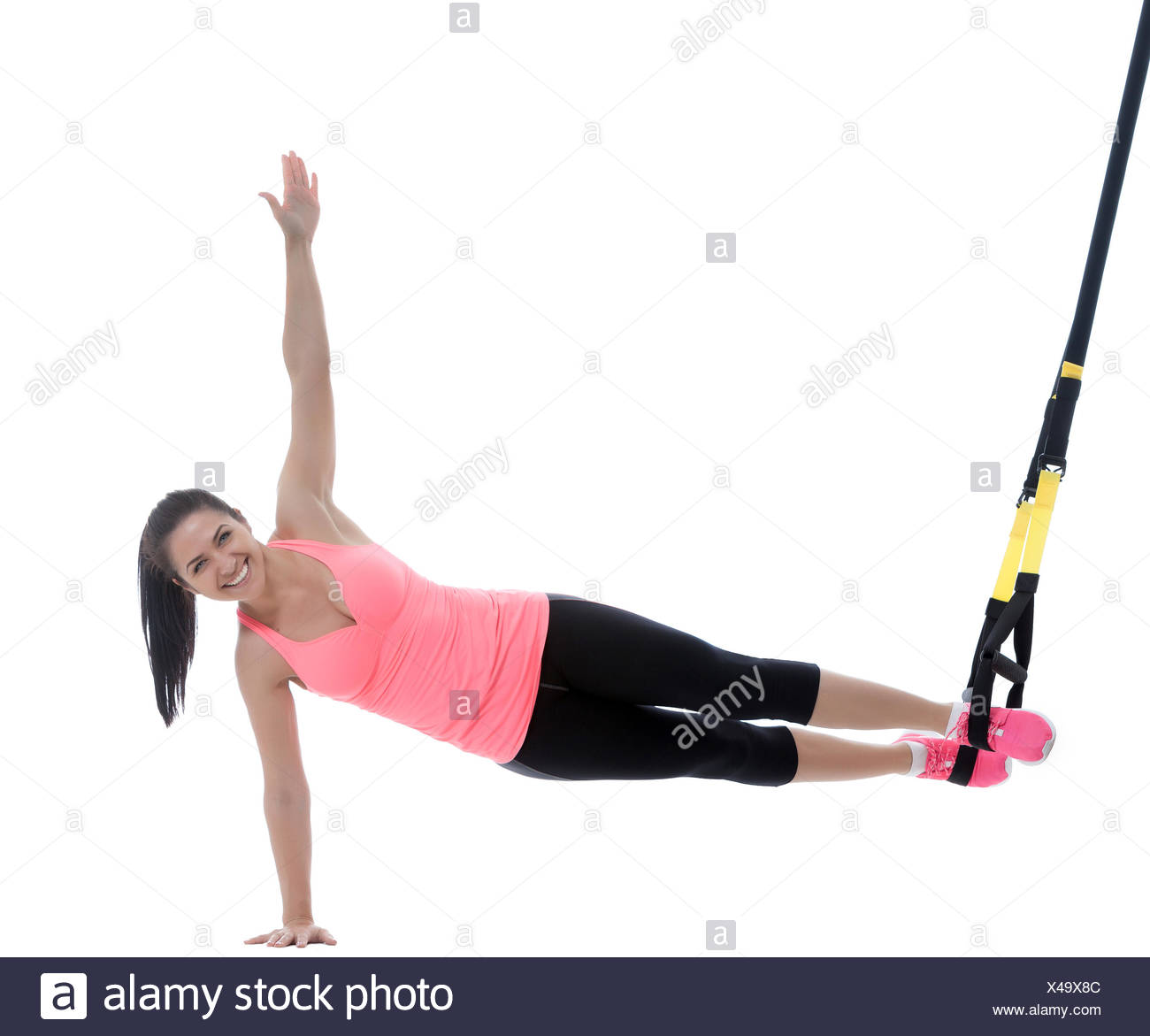 Des exercices de remise en forme Photo Stock