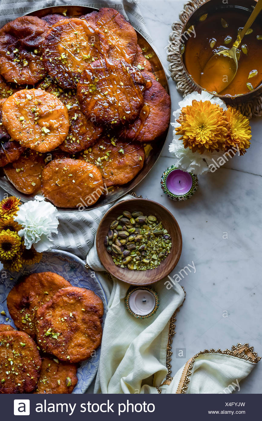 Dessert indien Photo Stock