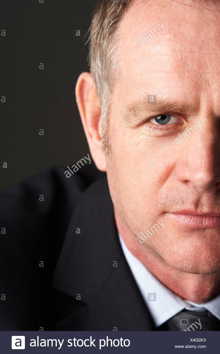 Portrait of Businessman Banque D'Images