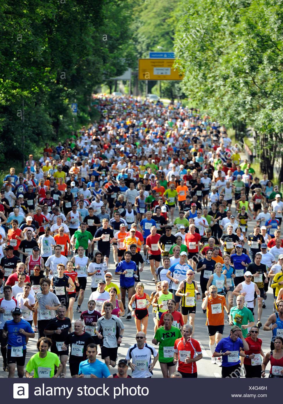 Demi-marathon, 29.05.2011, Stuttgarter-Zeitung-Lauf race, Stuttgart, Bade-Wurtemberg, Allemagne, Europe Photo Stock