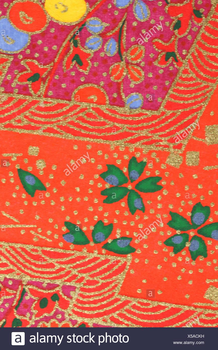 Papier Peint De Style Japonais Banque D Images Photo Stock