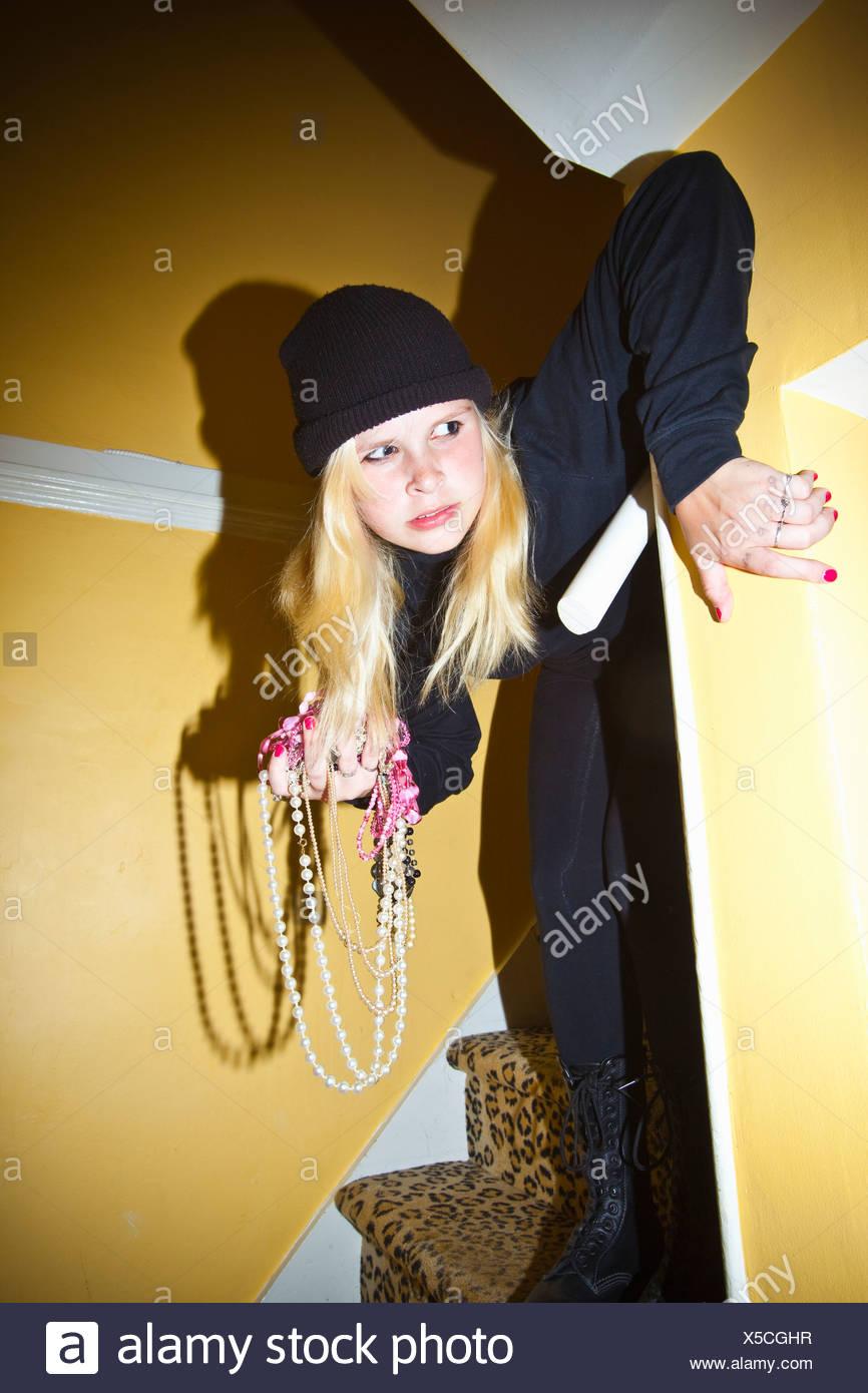 gros butin noir Teen Girls