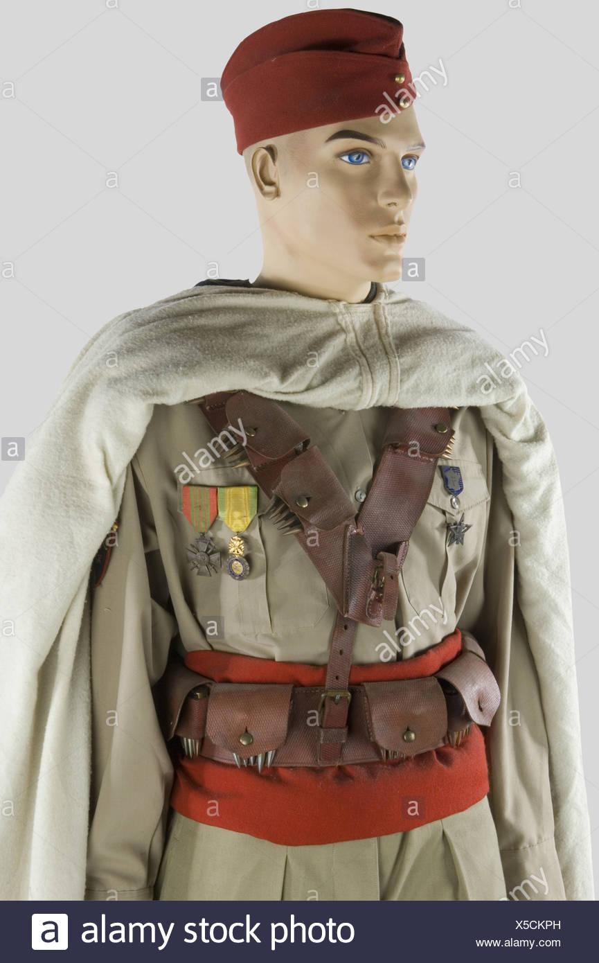 France 20ème siècle, Soldat des Spaits Marocain, armée de