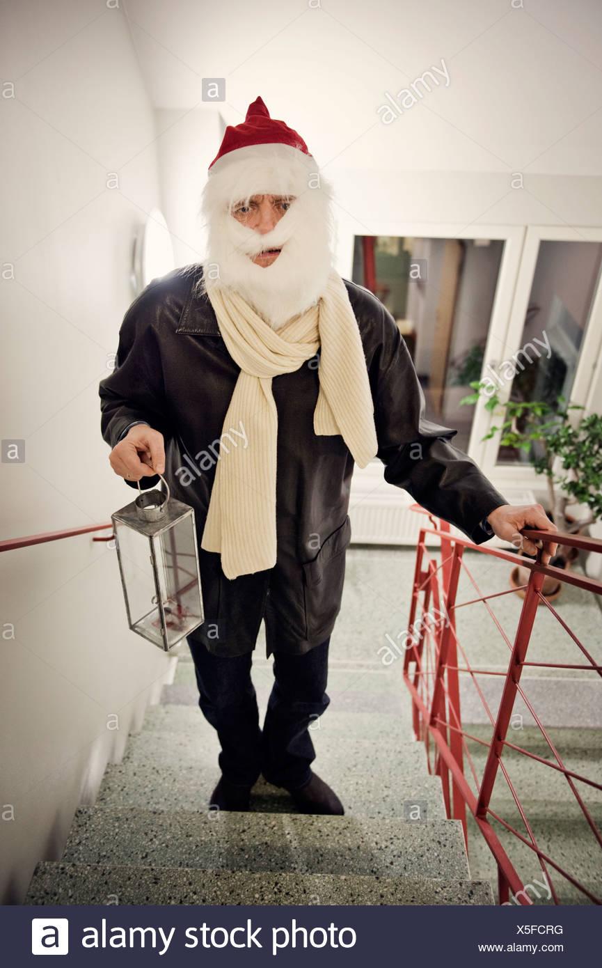 Un Père Noël, la Suède. Photo Stock