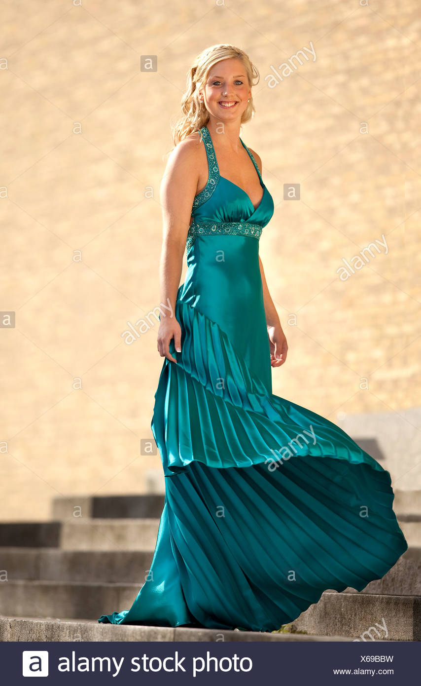 Beautiful Blonde In Evening Gown Photos Beautiful Blonde In