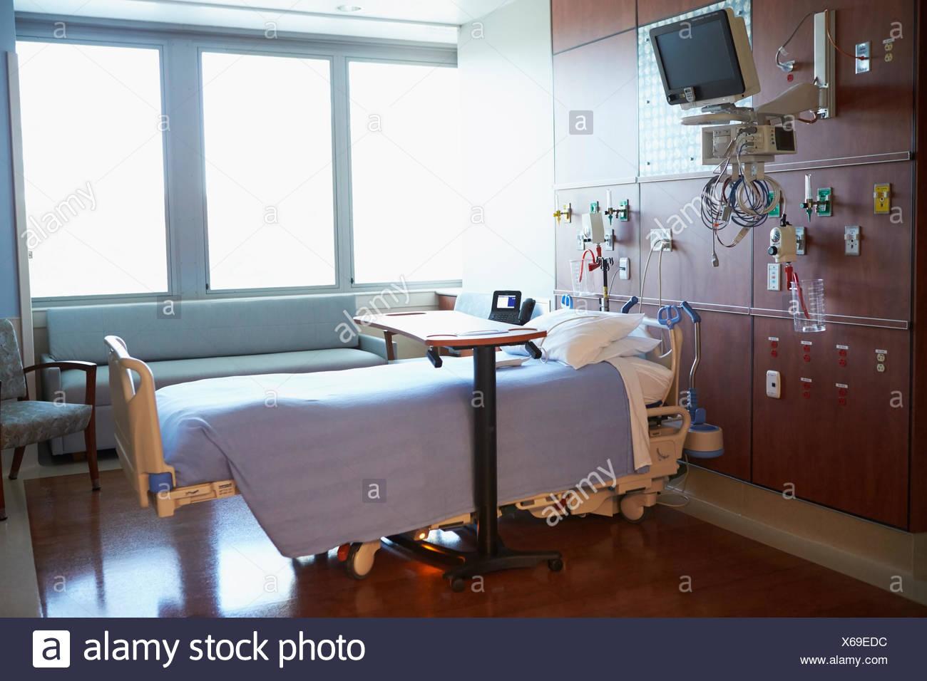 Parfait Patient Vide Chambre à Lu0027hôpital Moderne