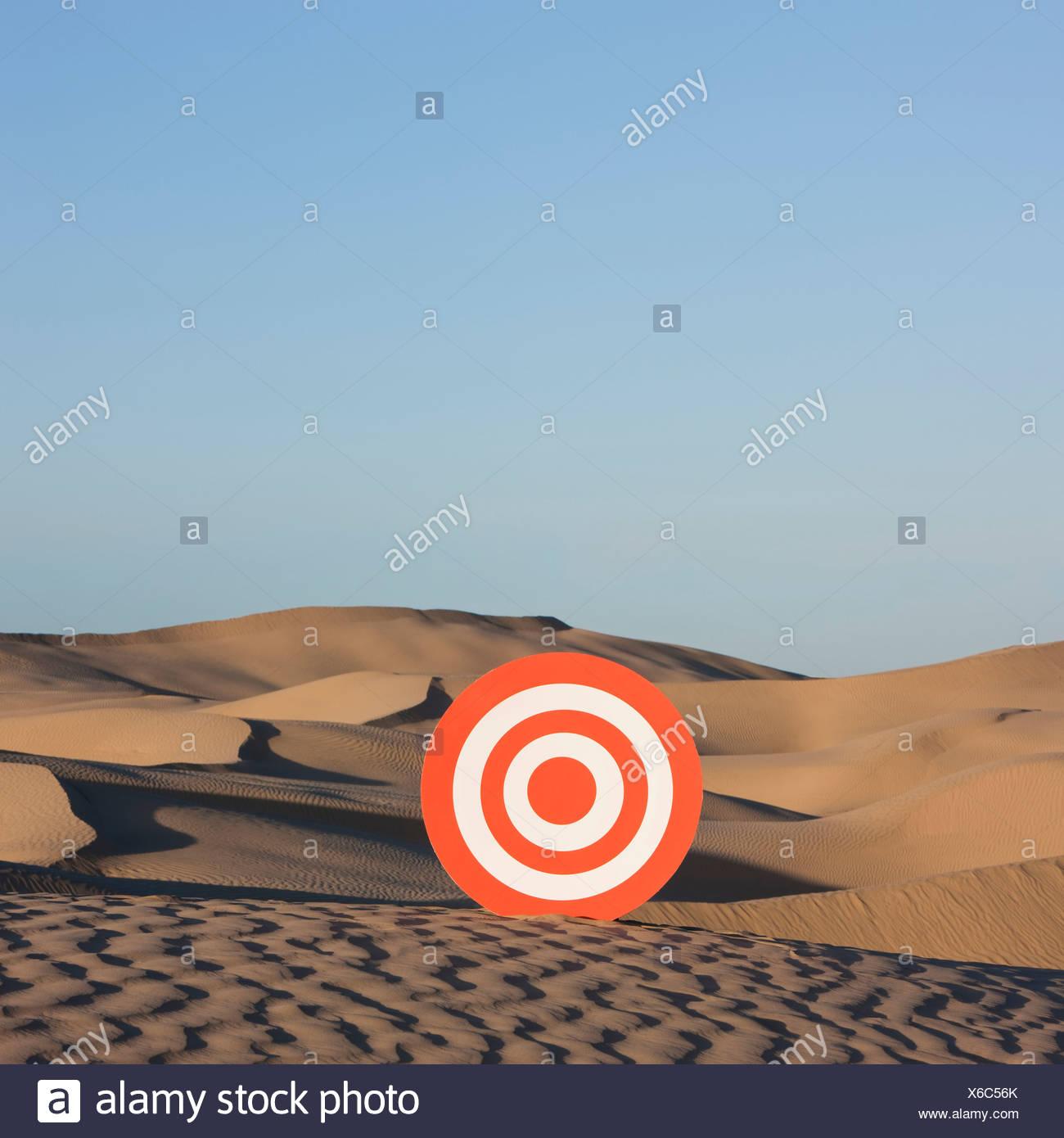 USA, Utah, little Sahara, désert sur cible Photo Stock