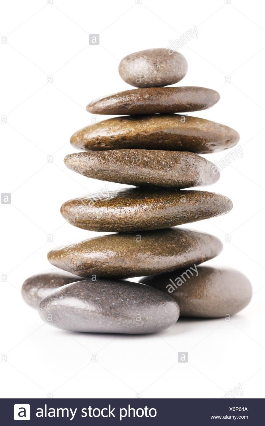 Des pierres d'équilibrage Photo Stock