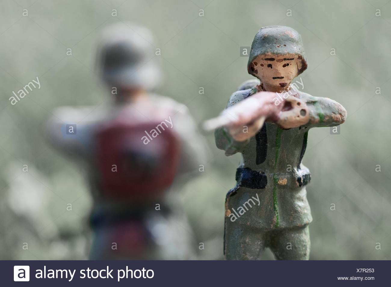 Old Toy Soldiers Banque D'Images