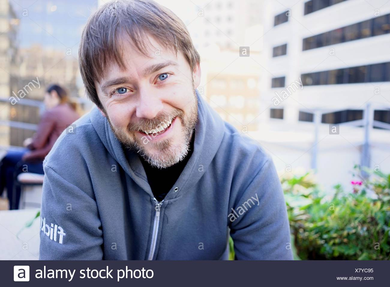 Portrait Of A Smiling Young Man Photo Stock