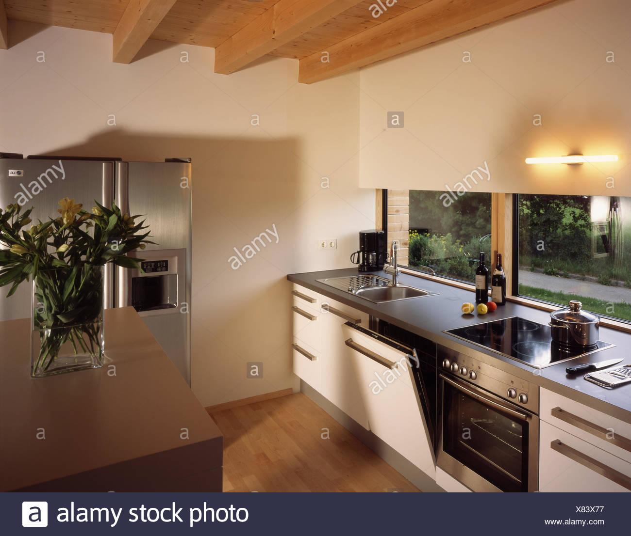 Maison d\'habitation à Eberle, la cuisine, moderne, maison d ...