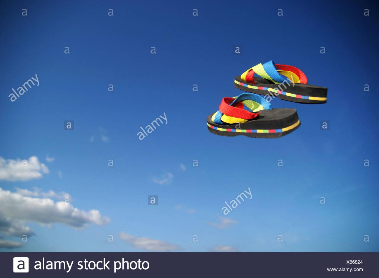 chaussures de plage Photo Stock