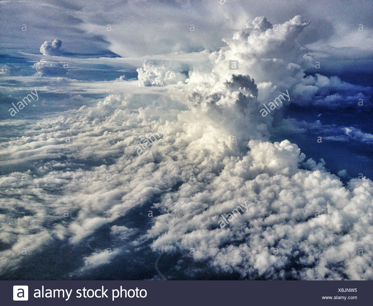L'INDONÉSIE, Bali, Cloudscape Banque D'Images