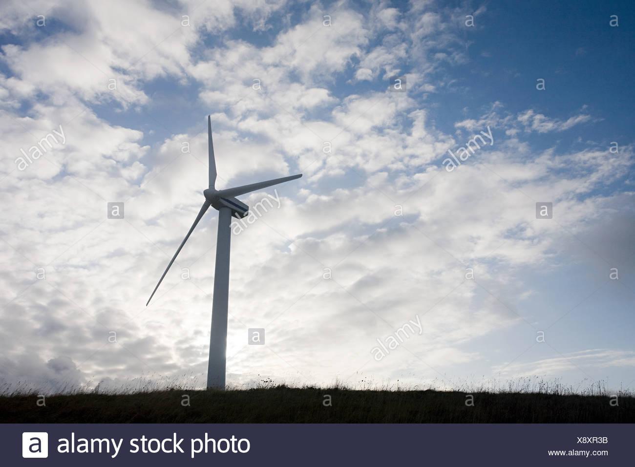 Éolienne, Cumbria Photo Stock