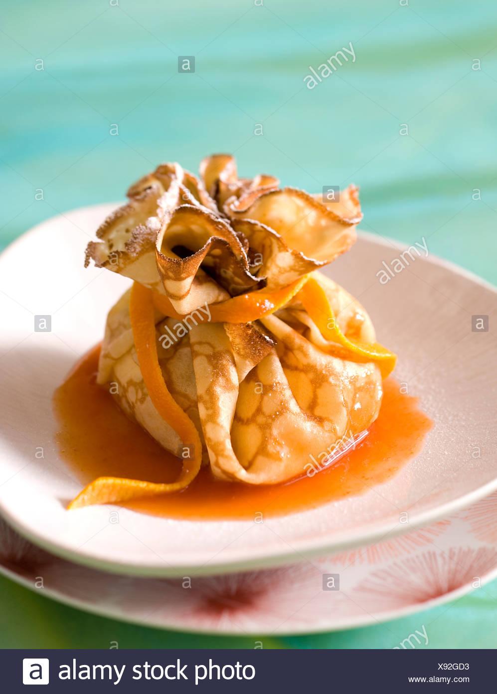 Poire au Pancake Sacs Photo Stock