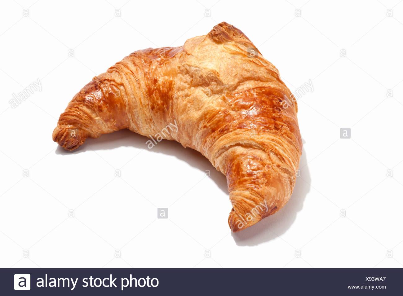 Un croissant Photo Stock