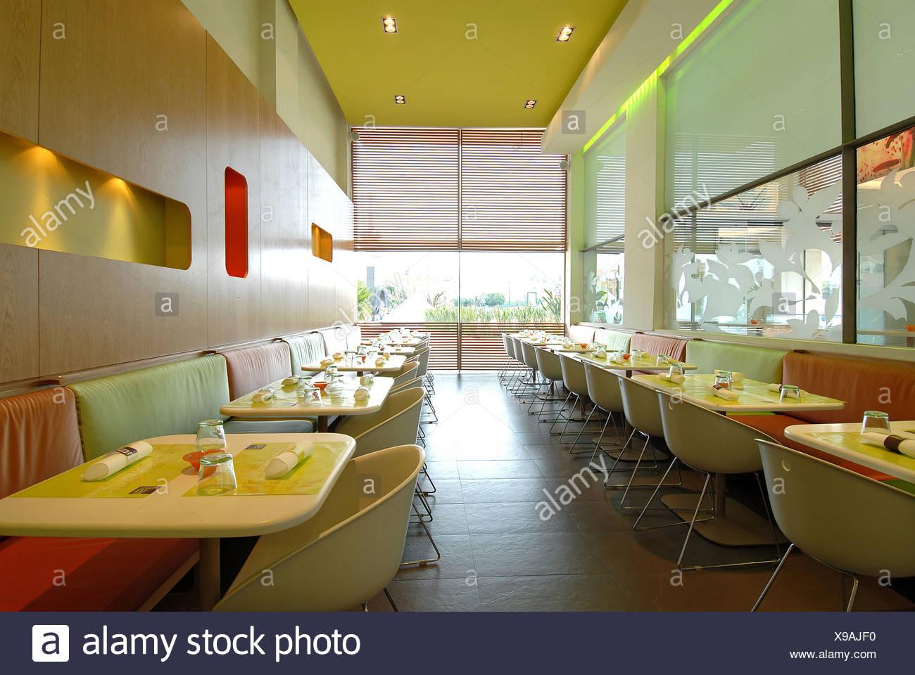 Maroc Marrakech Design Café Restaurant à l\'intérieur de l\'intérieur ...