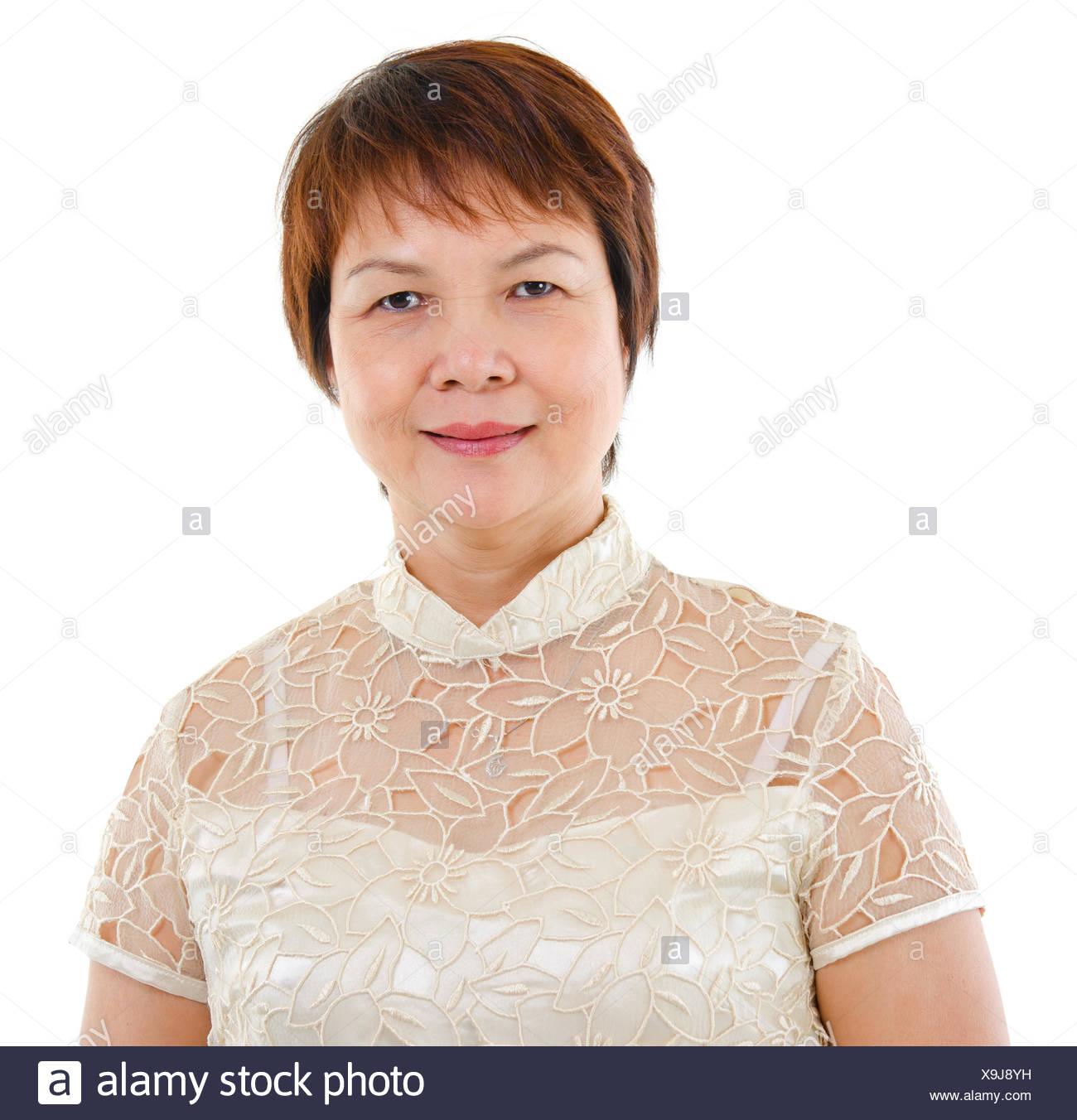Femme asiatique mature