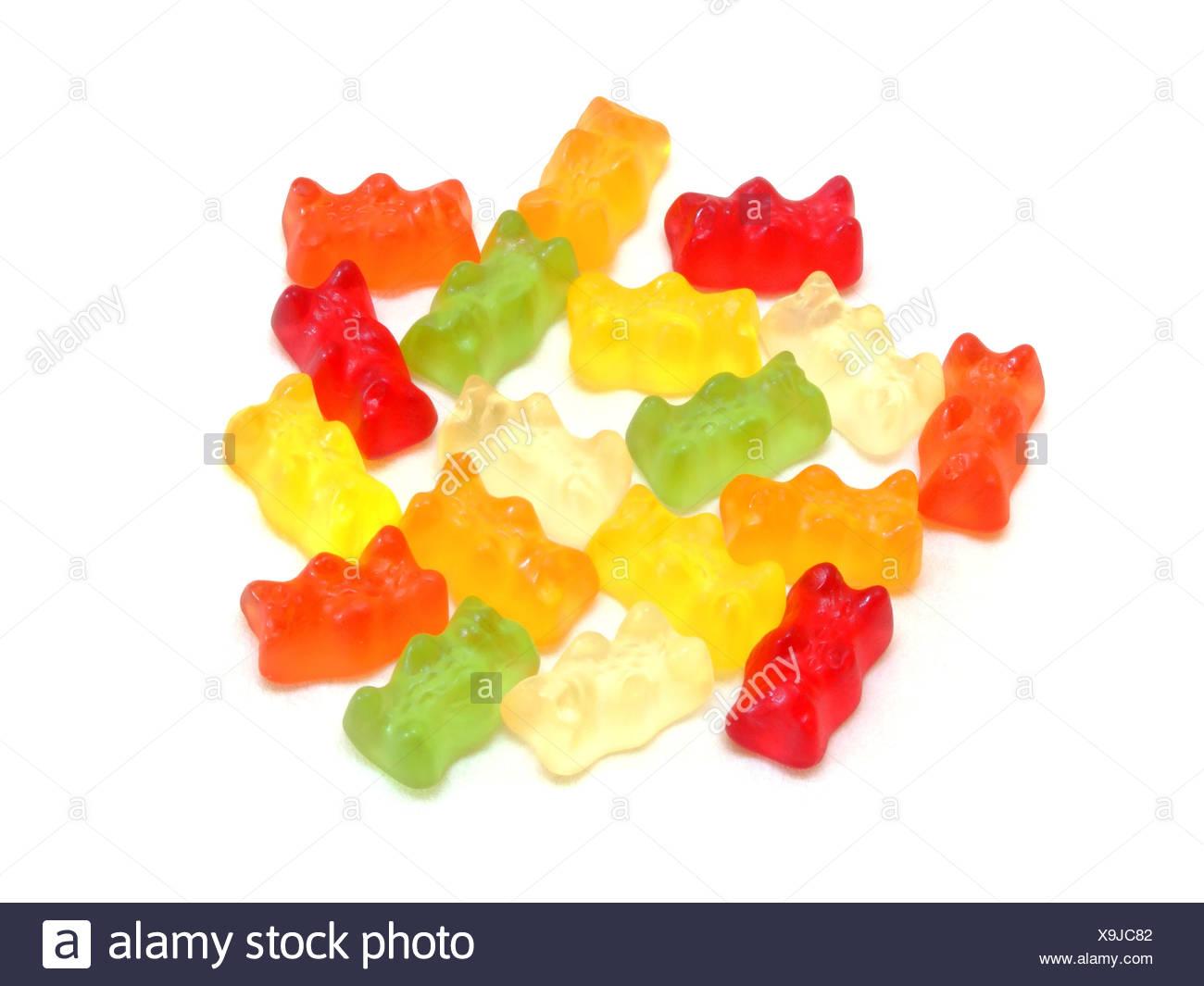 Gummibärchen / Gummy bears Banque D'Images