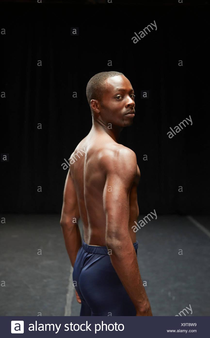 Danseur debout Photo Stock