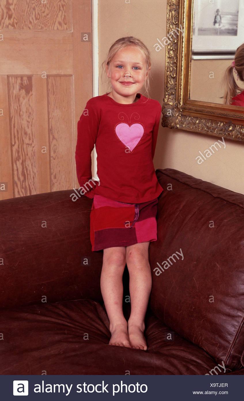 Haut Et Jupe Femme Avec Patchwork Portant Enfant Rouge Cœur Debout u1KFJcTl3