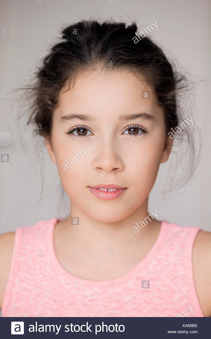 Portrait of a Girl Photo Stock