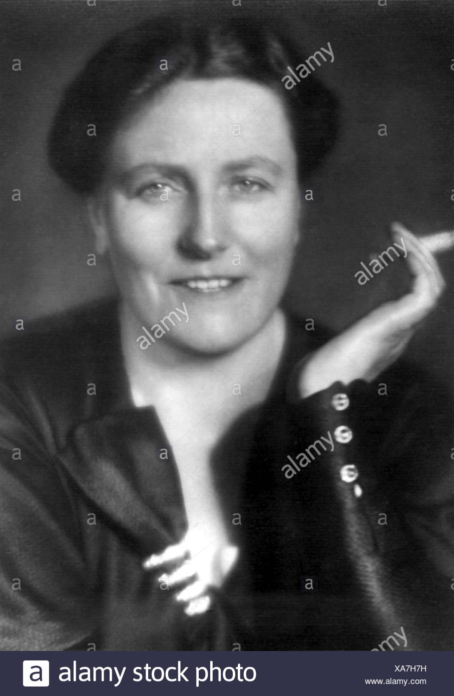Wagner, Winifred, 23.6.1897 - 5.3.1980, belle-fille de Richard Wagner, portrait, Additional-Rights-Jeux-NA Photo Stock
