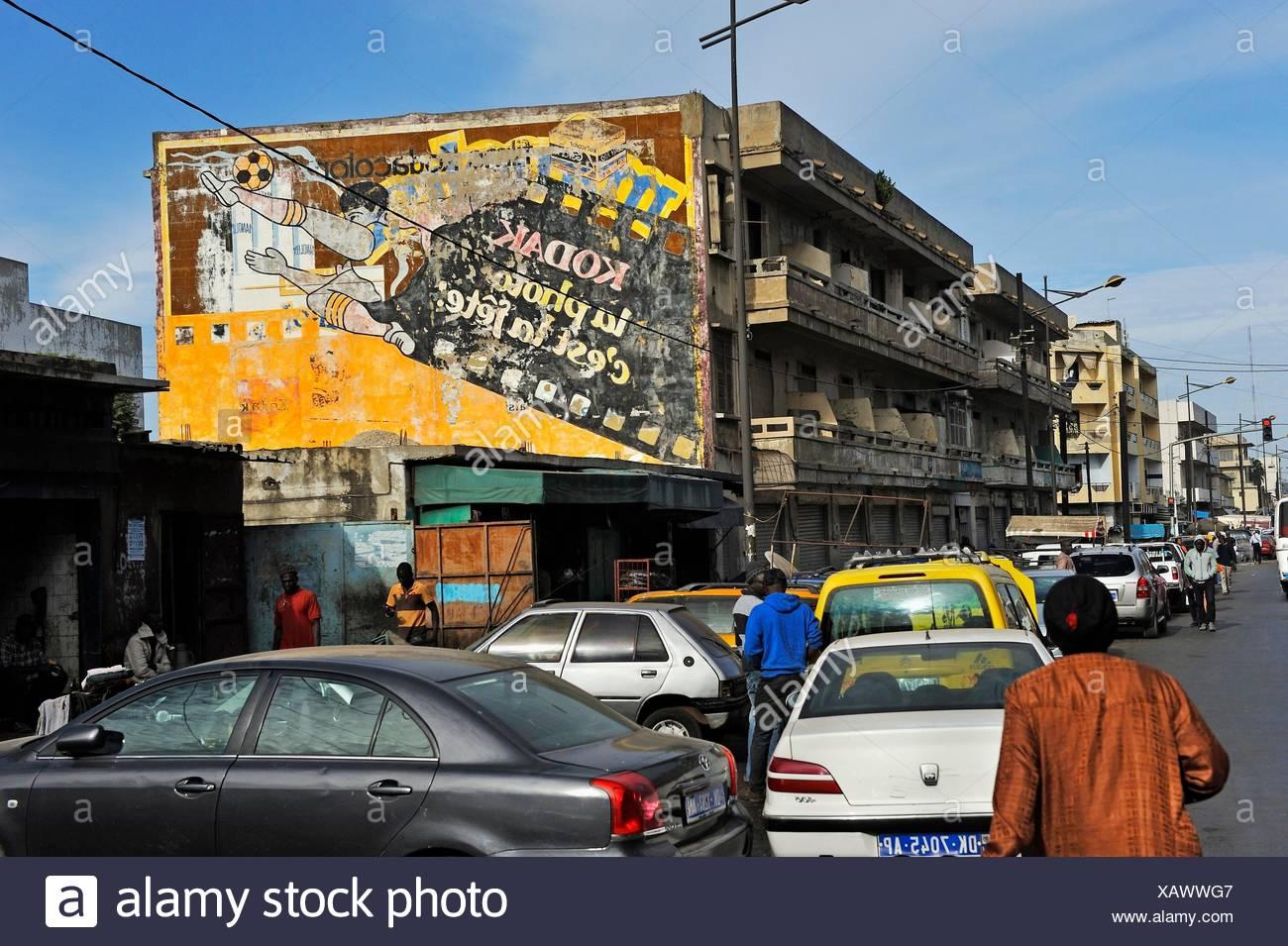 Dakar, Sénégal, Afrique de l'Ouest. Photo Stock