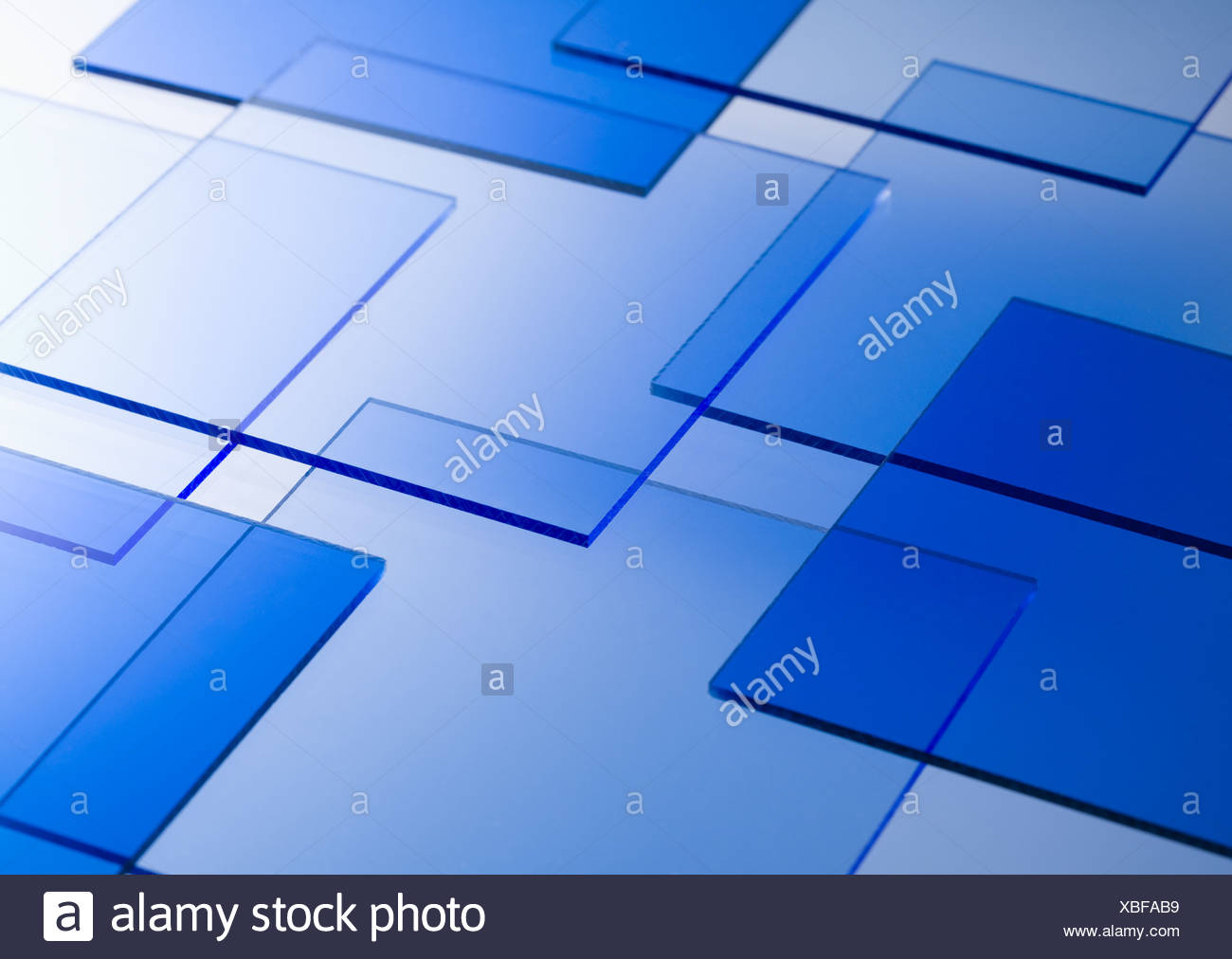Motif géométrique Photo Stock