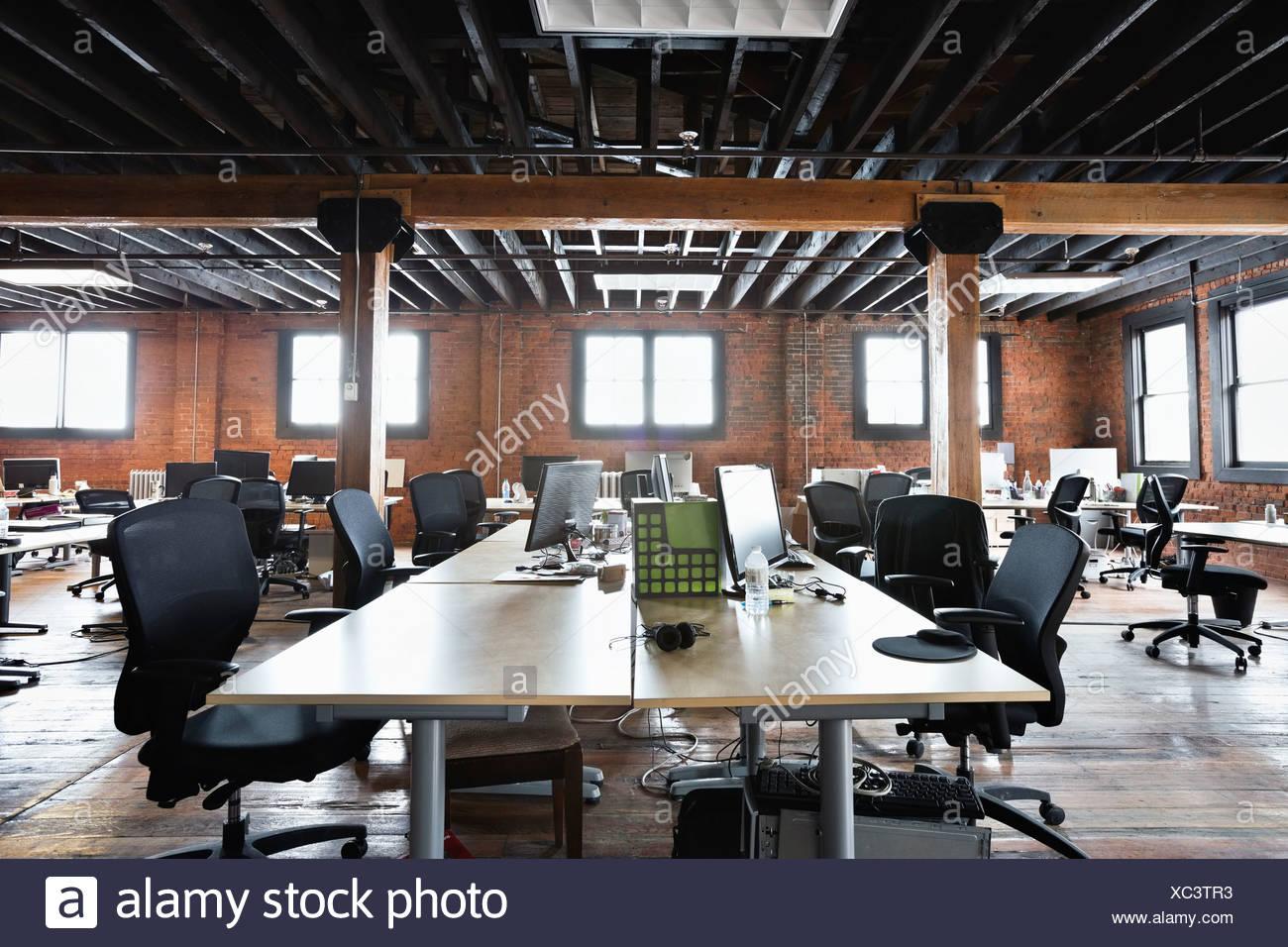 Intérieur de creative office space Banque D'Images