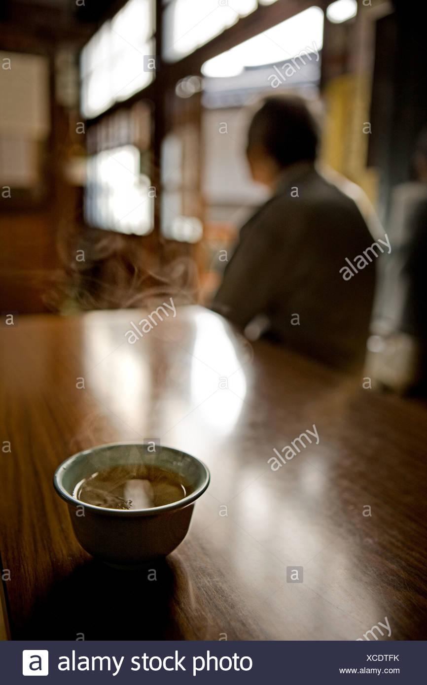 Thé traditionnel au Japon Photo Stock