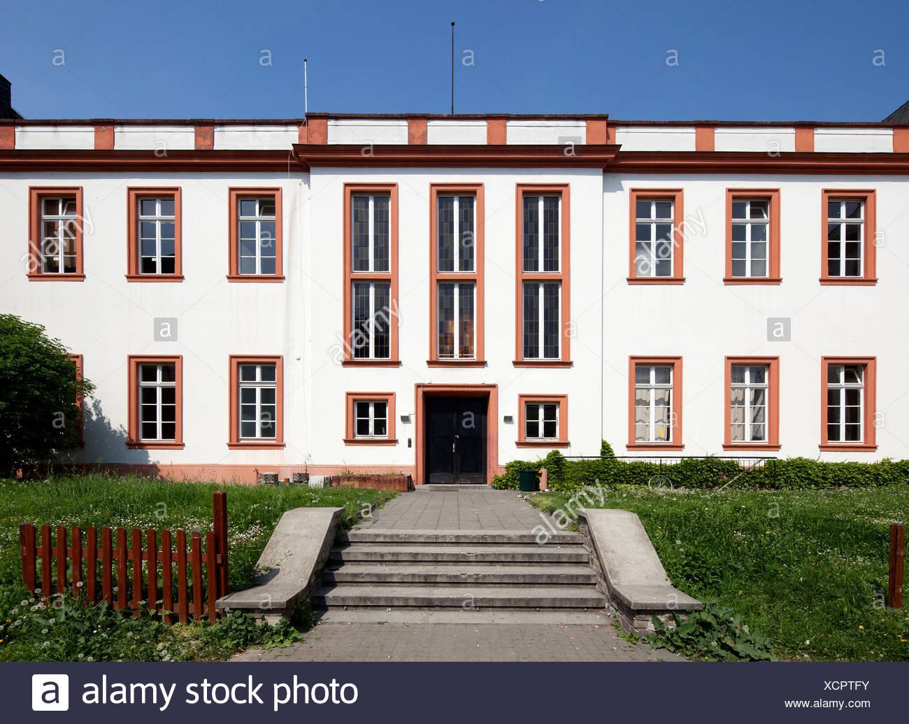 Ex-Schoenborner Hof, Centre d'études français, Institut Français, Maison de France, Mayence, Rhénanie-Palatinat, PublicGround Photo Stock