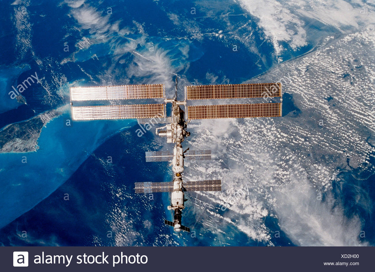 La Station spatiale internationale Photo Stock
