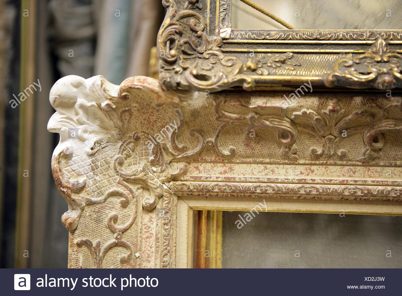 Object,coaching,ornements,rénovation,détail a Photo Stock
