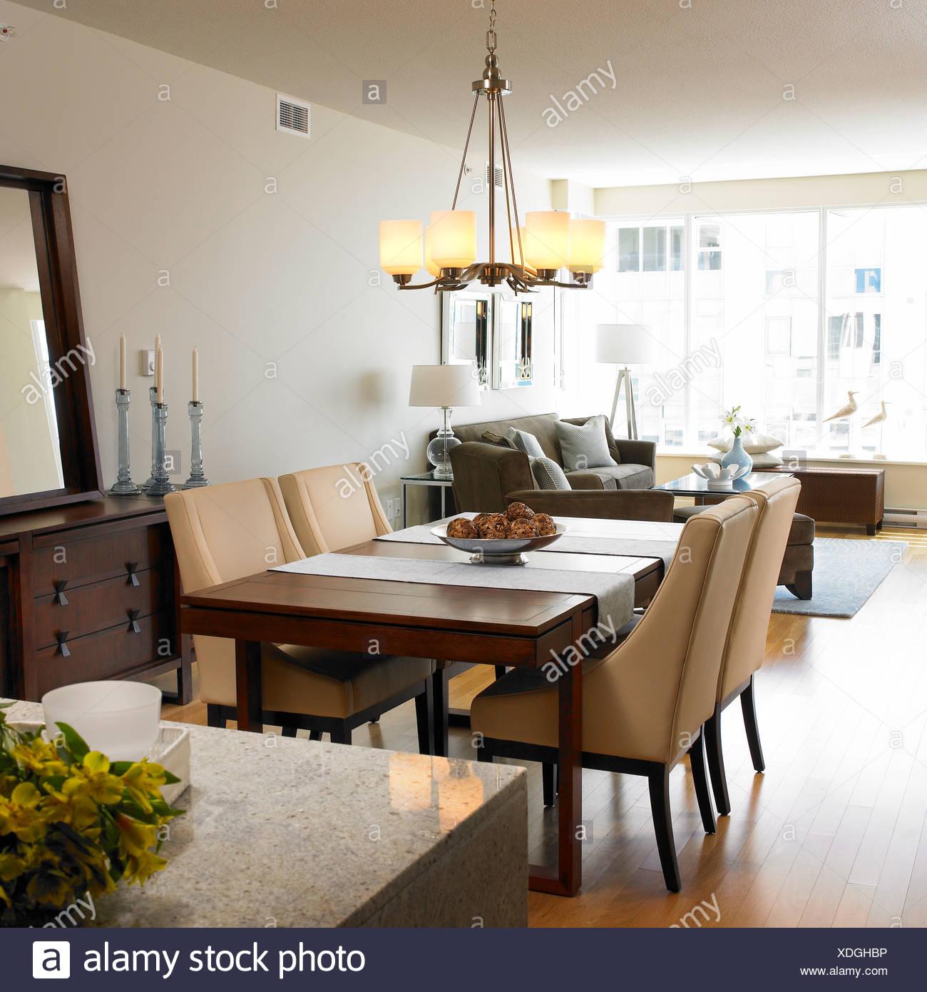 Couleur Salle De Sejour salle de séjour de condo avec des meubles couleur taupe