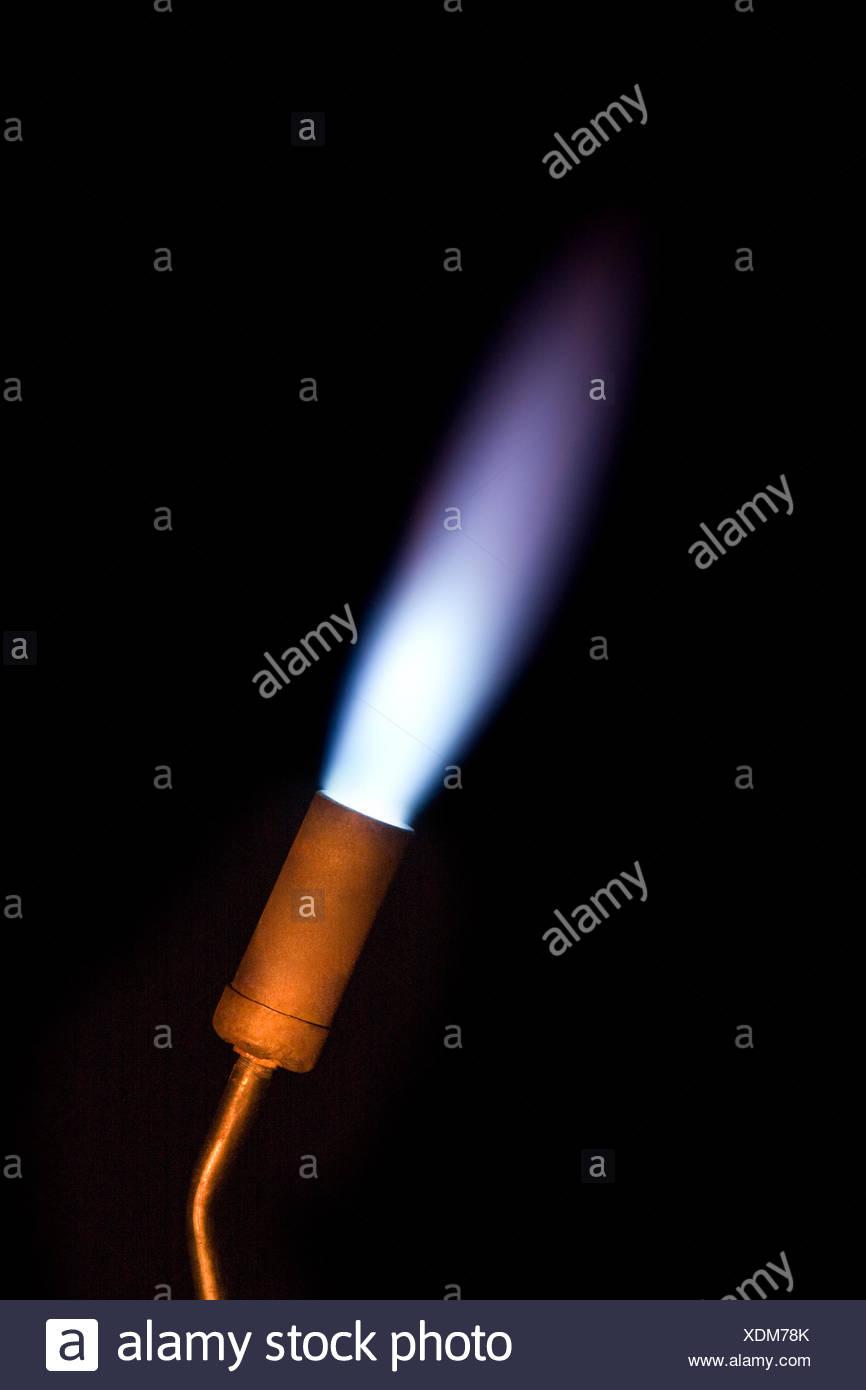 Torche de gaz Photo Stock