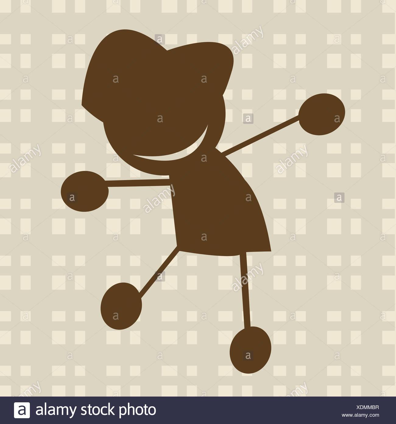 Illustration pour enfants Photo Stock