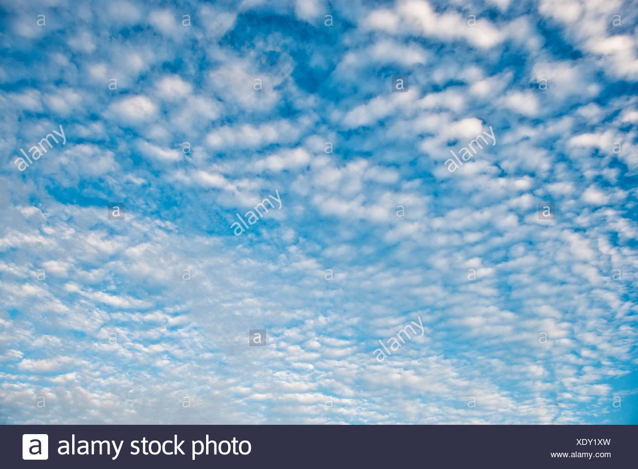 Ciel et les nuages. Photo Stock